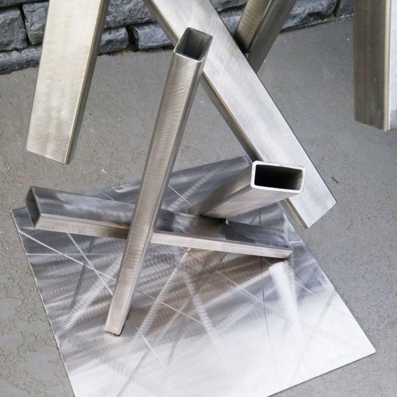 steel sculpture base