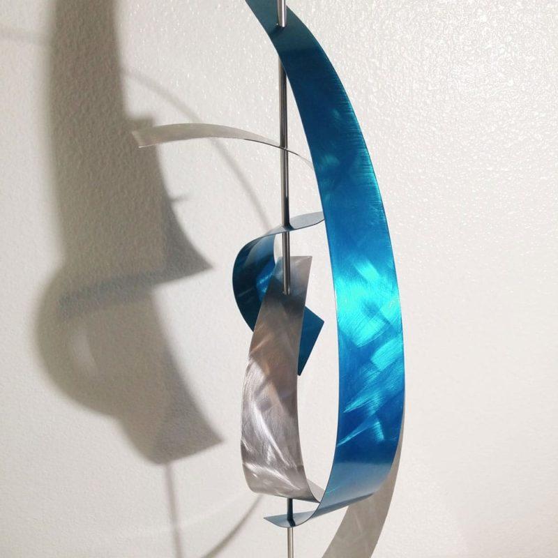 Teal Sculpture