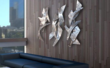 Metal Wall Sculptures