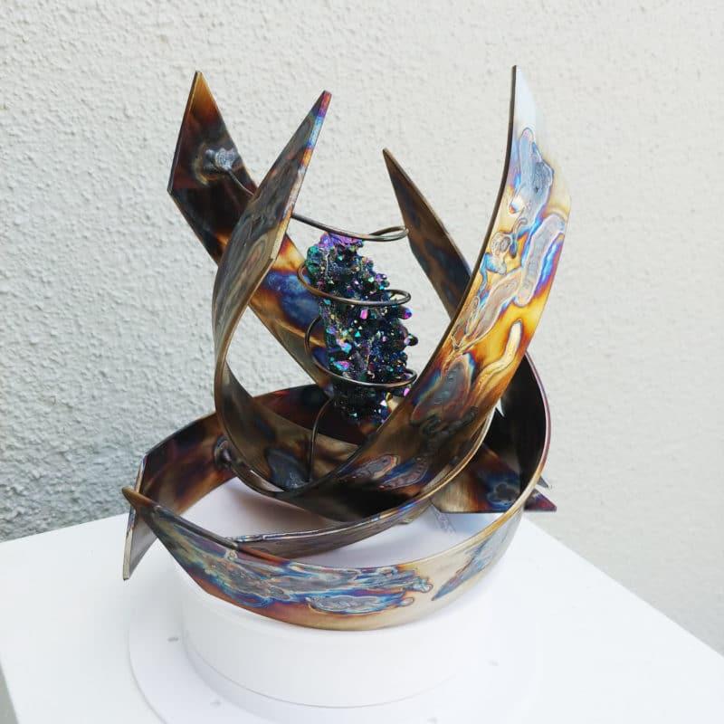 Aura Crystal Sculpture