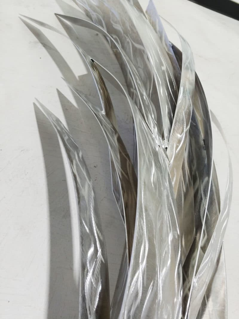 Metal Wings Wall Sculpture
