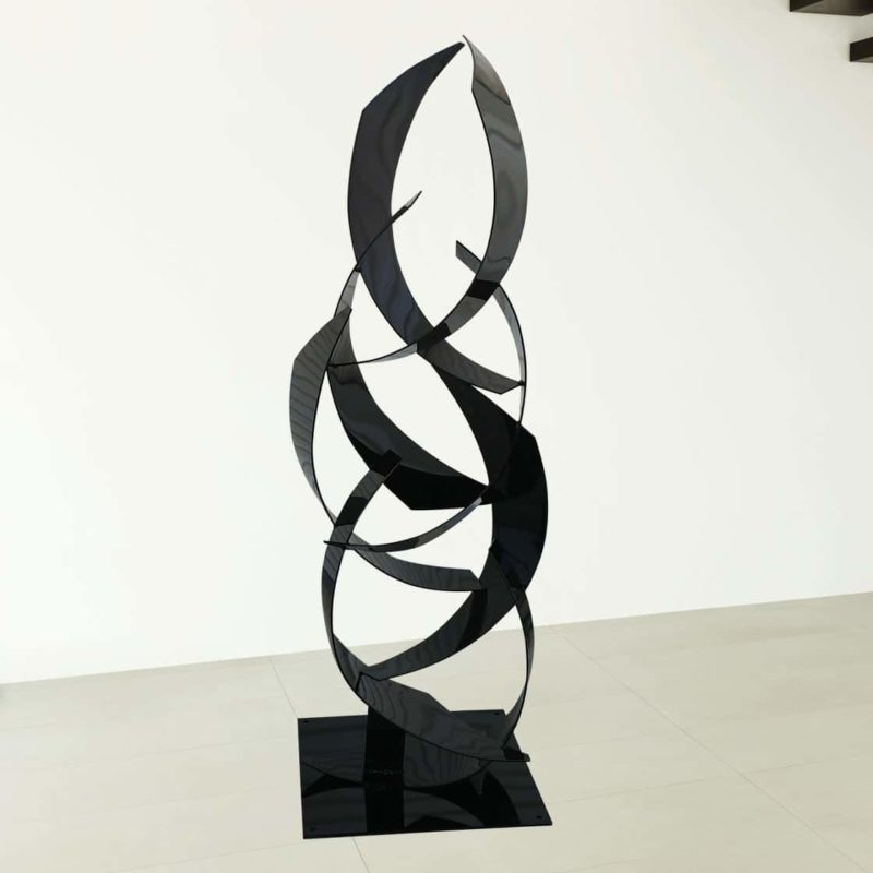 Large Black Sculpture